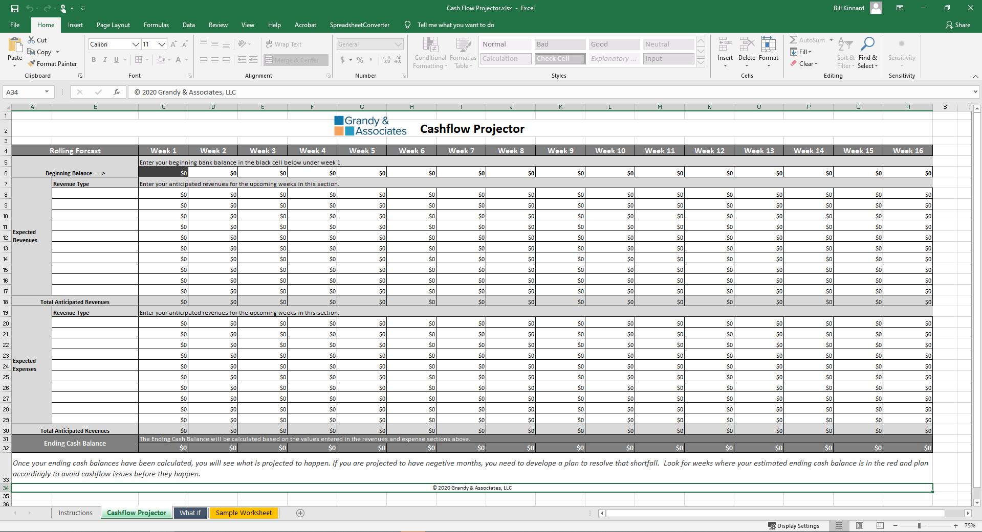 Cashflow Projector Image